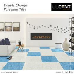 Double Loaded Vitrified Tiles