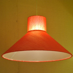 Fabric Also Available In Cotton And Silk Contemporary Hanging Lights