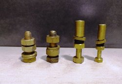 Brass Industrial Fastener, Round And Hex, Size: 6m To 50m