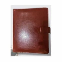 Leather Diary With Power Bank