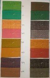 Bella Chex & Plain Fabric