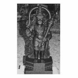 18 Feet Divine Black Stone Hanuman