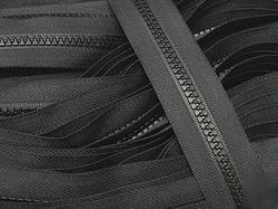 No 10 PVC Nylon Zippers