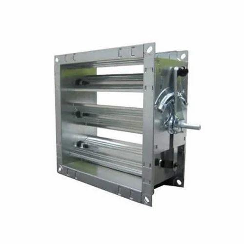 Duct Damper - Volume Control GI Damper Manufacturer from