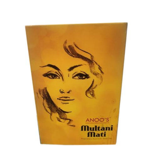 24 - 36 Months Multani Powder, For It Gives Skin Smoothing, Packaging Size: 100 G