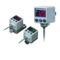 SMC 2-Color Display High-Precision Digital Pressure Switch ZSE40A (F) /ISE40A