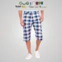 Fair Trade Organic Cotton Mens Knee Length Shorts