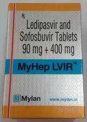 Mylan Myhep Lvir Tablets