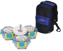 Rema- Nexa Lunch Box of 4 Stainless Steel Containers with Easy Carrying Cushion Soft Touch Pouch
