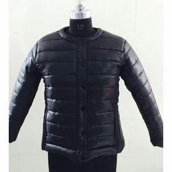 Black Ladies Quilted Jacket
