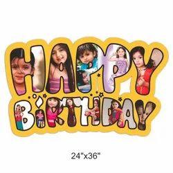 Happy Birthday Photo Printed Services