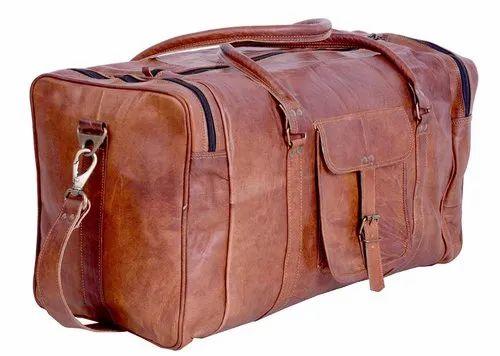 62c9555f2181 Leather Duffel Bag