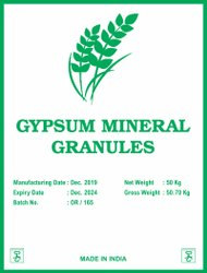 Gypsum Mineral Granules