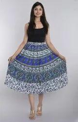 Jaipuri Cotton Printed Skirts
