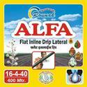 0.50 mm Rounak Alfa Flat Inline Drip Pipe