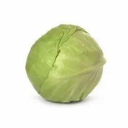 Green A Grade Fresh Cabbage, Carton, 5 Kg