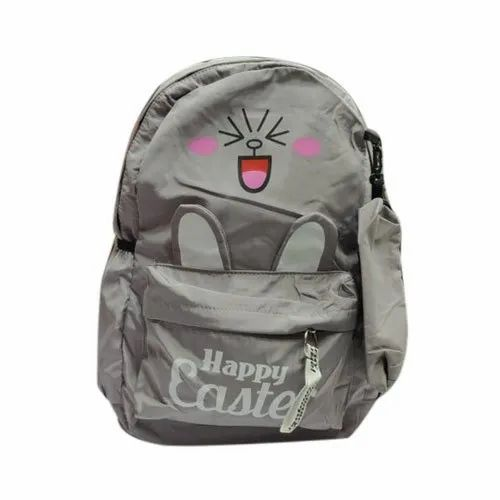 Printed Ladies Polyester Backpack