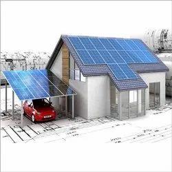 Domestic Solar Power Plant