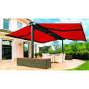 Red Semi Cassette Awnings