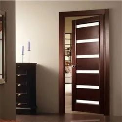 Interior Finished Brown Flush Door