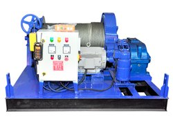 10 Ton Power Winch Machine