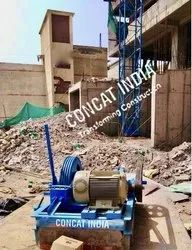 Electric Fixed Hoist With Winch Machine