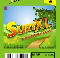 Surya XL GREEN Surya-XL 180g Laundry Soap, Pack Size: 10.8 KG