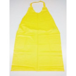 Yellow Plain Disposable Plastic Apron, for Kitchen, Size: Free Size