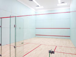 Wooden Flooring Squash Court
