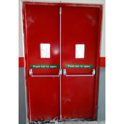 Emergency Door with Panic Latch
