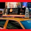 P4 Full Color 3G 4G Taxi Top LED Display