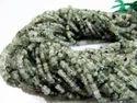 Green Rutilated Quartz Beads