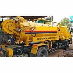 High Pressure Sewer Jetting Cum Suction Machine