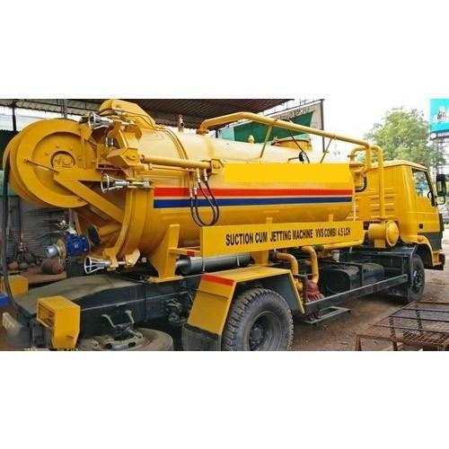 HIGH PRESSURE Sewer Jetting Cum Suction Machine