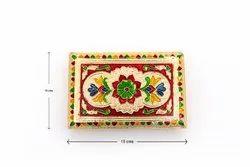 Sri Rudra Meena Chowki Peetam (6x6 Size) for Home