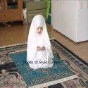 Janamaz Carpet Jacquard Silk Muslim Namaz Prayer Mat