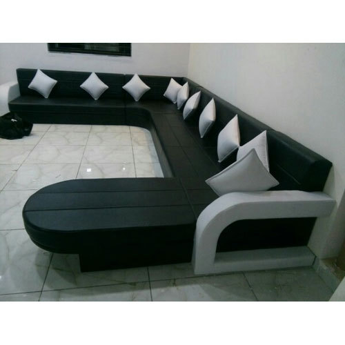 Designer U Shape Sofa Set य आक र क स फ स ट य