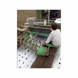 Double Drip Plastic Mulch Film Laying Machine