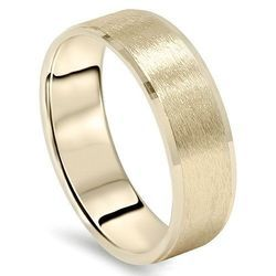 Mens Gold Ring For Wedding Mens Ring