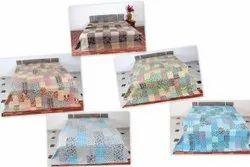 Kantha Patchwork Design Bed Cover