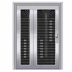 Pressed Steel Grill Door, Thickness (millimetre): 22 Gauge- 3 mm