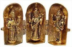 Golden Plated Flip Ram Darwar