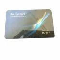 Black Rectangular Pvc Embossed Card