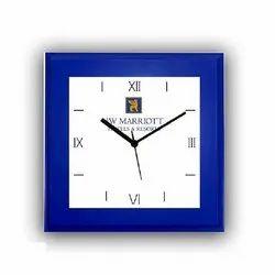 Analog Plastic Square Wall Clocks