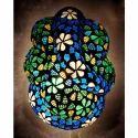 Led Mosaic Glass Decorative Ganesh Wall Lamp