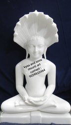 Marble Digambar Jain Statues