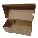Folding Corrugated Shoe Box