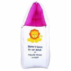 Moms Boy-Baby Sleeping Bag Come Carry Bag (Pink)