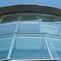 Transparent Om Glass Building Glass