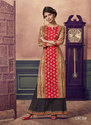 Women Palazzo Suits In Cotton With Embroidered